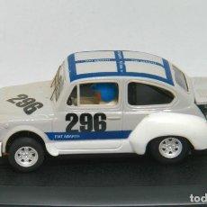 Slot Cars: FIAT ABARTH 1000 NURBURGRING 1964 (REPROTEC). Lote 129353095