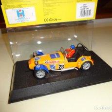 Slot Cars: SUPERSLOT. CATERHAM 7 Nº28. REF. H2231. Lote 130938880