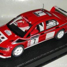 Slot Cars: MITSUBISHI EVO AUTOART 1:32/SCALEXTRIC NUEVO EN CAJA. Lote 131022992