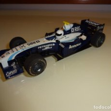 Slot Cars: SUPERSLOT. PLANETA. COLECCIÓN F1 SUPERSLOT. WILLIAMS FW26. Lote 131097428