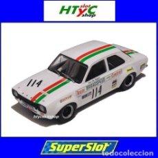 Slot Cars: SUPERSLOT FORD ESCORT MK1 #114 CASTROL BRANDS HATCH 1971 JOHN FITZPATRICK SCALEXTRIC H3924. Lote 157541489