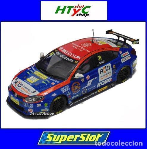 OFERTÓN! SUPERSLOT MG6 #31 BTCC 2015 JACK GOFF BRANDS HATCH SCALEXTRIC UK H3736 (Juguetes - Slot Cars - Magic Cars y Otros)