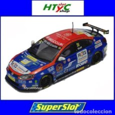 Slot Cars: OFERTÓN! SUPERSLOT MG6 #31 BTCC 2015 JACK GOFF BRANDS HATCH SCALEXTRIC UK H3736. Lote 133896218