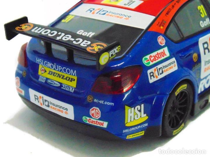 Slot Cars: OFERTÓN! SUPERSLOT MG6 #31 BTCC 2015 JACK GOFF BRANDS HATCH SCALEXTRIC UK H3736 - Foto 9 - 217387711