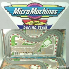 Slot Cars: MALETIN MICRO MACHINES - PISTA CIRCUITO -MICROMACHINES -MICROMACHINES MACHIN MALETIN. Lote 175708678