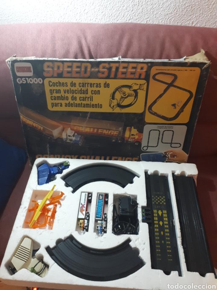 SPEED STEER GS1000 DE COMANSI VERSIÓN CAMIONES (Juguetes - Slot Cars - Magic Cars y Otros)
