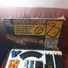 Slot Cars: SPEED STEER GS1000 DE COMANSI VERSIÓN CAMIONES. Lote 134784063