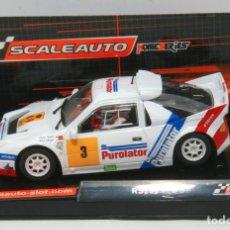 Slot Cars: FORD RS200 PUROLATOR CARLOS SAINZ (SCALEAUTO) SIN ESTRENAR. Lote 135112094
