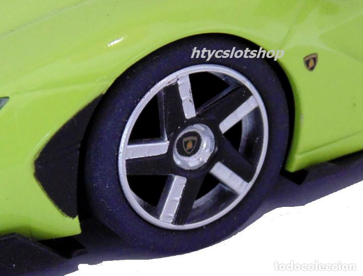 Slot Cars: SUPERSLOT LAMBORGHINI CENTENARIO GREEN SCALEXTRIC UK H3957 - Foto 9 - 135229046