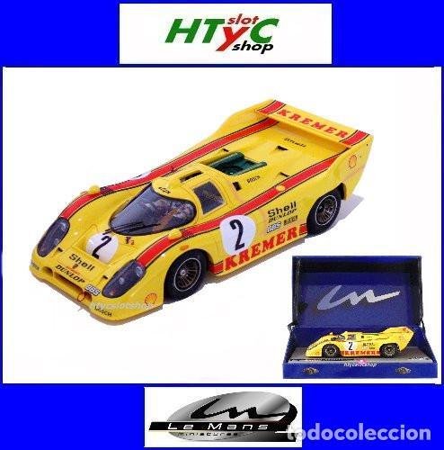LE MANS MINIATURES PORSCHE 917K #2 1000 KM BRANDS HATCH 1981 WOLLEK / PESCAROLO 132081/2 (Juguetes - Slot Cars - Magic Cars y Otros)