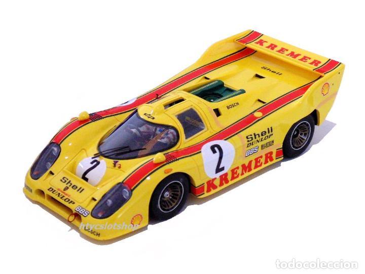 Slot Cars: LE MANS MINIATURES PORSCHE 917K #2 1000 KM BRANDS HATCH 1981 WOLLEK / PESCAROLO 132081/2 - Foto 2 - 135865282