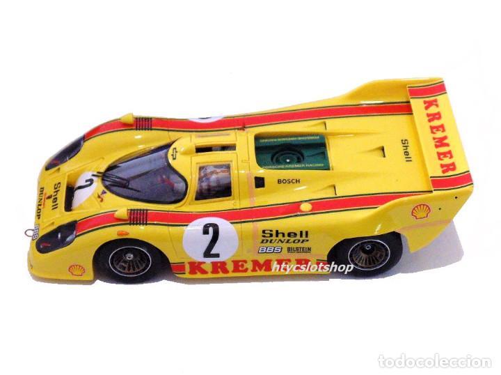 Slot Cars: LE MANS MINIATURES PORSCHE 917K #2 1000 KM BRANDS HATCH 1981 WOLLEK / PESCAROLO 132081/2 - Foto 3 - 135865282