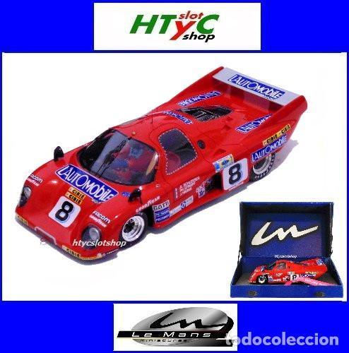 LE MANS MINIATURES RONDEAU M379 CL #8 24 HS LE MANS 1981 SCHLESSER / STREIFF / HARAN 132051/8M (Juguetes - Slot Cars - Magic Cars y Otros)
