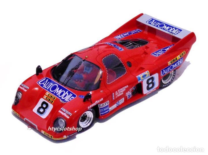Slot Cars: LE MANS MINIATURES RONDEAU M379 CL #8 24 HS LE MANS 1981 SCHLESSER / STREIFF / HARAN 132051/8M - Foto 2 - 135871782