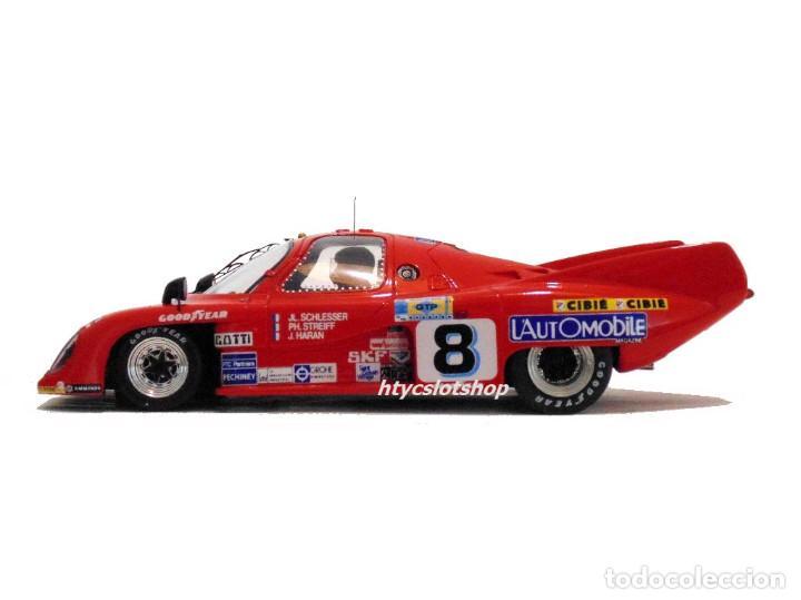 Slot Cars: LE MANS MINIATURES RONDEAU M379 CL #8 24 HS LE MANS 1981 SCHLESSER / STREIFF / HARAN 132051/8M - Foto 6 - 135871782