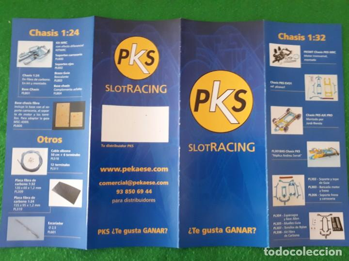 FLYERS / FOLLETO A4 HOBBY SLOT RACING (Juguetes - Slot Cars - Magic Cars y Otros)