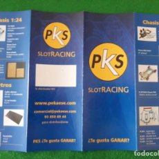 Slot Cars: FLYERS / FOLLETO A4 HOBBY SLOT RACING. Lote 136197186