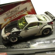Slot Cars: NISSAN 350Z FAST & FOURIOS CARRERA EVOLUTION. Lote 196170867