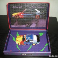 Slot Cars: 99022 BMW M3 E30 ARTCAR KEITH DONE FLY CAR MODEL. Lote 235141870