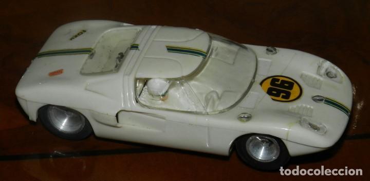 COCHE FORD GT DE STROMBECKER PAYÁ. AÑOS 70, TAL COMO SE VE EN LAS FOTOGRAFIAS PUESTAS. (Juguetes - Slot Cars - Magic Cars y Otros)