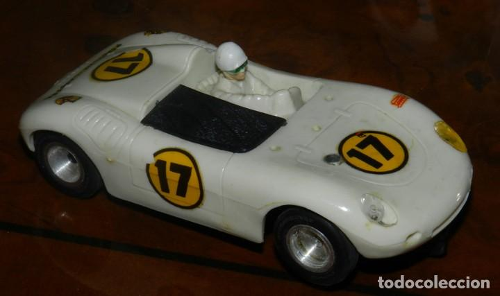 COCHE PORSCHE DE STROMBECKER PAYÁ. AÑOS 70, TAL COMO SE VE EN LAS FOTOGRAFIAS PUESTAS. (Juguetes - Slot Cars - Magic Cars y Otros)