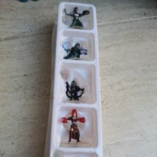Slot Cars: 5 FIGURAS DEL JUEGO MAGIC THE GATHERING - ARENA OF THE PLANESWALKERS - HASBRO. Lote 140842490