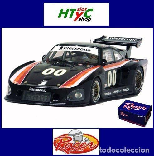 RACER PORSCHE 935 K3 #00 3º MOSPORT 6 HS 1980 INTERSCOPE FIELD / ONGAIS RCR45 (Juguetes - Slot Cars - Magic Cars y Otros)