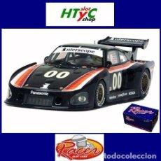 Slot Cars: RACER PORSCHE 935 K3 #00 3º MOSPORT 6 HS 1980 INTERSCOPE FIELD / ONGAIS RCR45. Lote 140873734