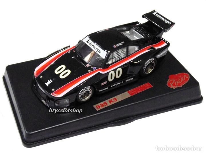 Slot Cars: RACER PORSCHE 935 K3 #00 3º MOSPORT 6 HS 1980 INTERSCOPE FIELD / ONGAIS RCR45 - Foto 12 - 140873734
