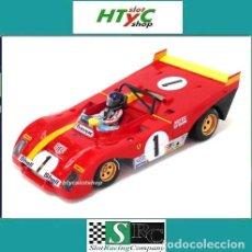 Slot Cars: SRC FERRARI 312 PB #1 CODALUNGA 1º 1000 KM MONZA 1972 ICKX / REGAZZONI OSC 03102. Lote 141726214