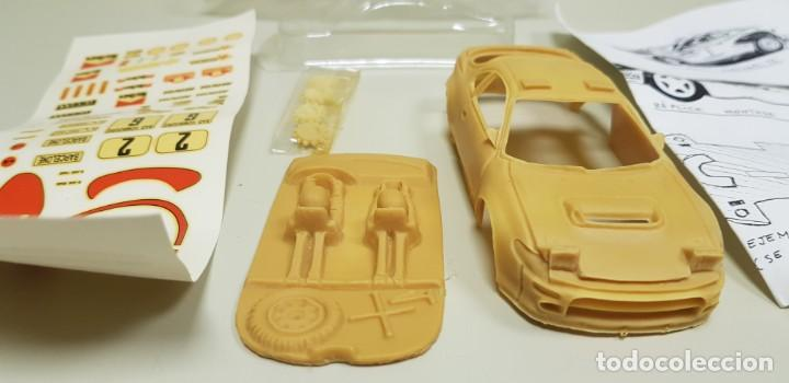 Slot Cars: J4- TOYOTA CELICA MINI REPLICAS SLOT CAR KIT MONTAJE NUEVO - Foto 3 - 141935886