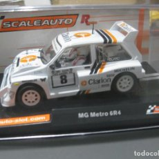 Slot Cars: MG METRO 6R4 Nº8 CLARION VERSION RACING DE SCALEAUTO. Lote 245549295