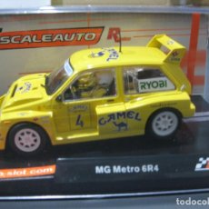 Slot Cars: MG METRO 6R4 Nº4 CAMEL VERSION RACING DE SCALEAUTO. Lote 183580055