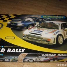 Slot Cars: SUPERSLOT WORD RALLY. HORNBY. H1059. Lote 142397562
