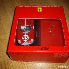 Slot Cars: FERRARI BERLINETTA 250 LE MANS 1965 BIANCHI-SALMON. Lote 142797210