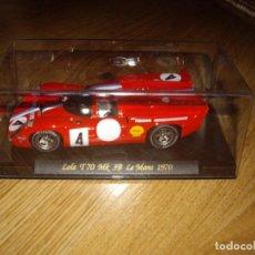 Slot Cars: LOLA T70 MK 3B LE MANS 1970. Lote 142797930