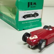 Slot Cars: J-LANCIA FERRARI D50 BUM SLOT NUMERO 101 UNIDADES LIMITADAS MUY DIFICIL CONSEGUIR . Lote 142817254