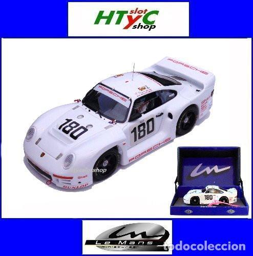 LE MANS MINIATURES PORSCHE 961 #180 24 HS LE MANS 1986 BALLOT-LENA / METGE 132066M (Juguetes - Slot Cars - Magic Cars y Otros)