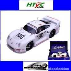 Slot Cars: LE MANS MINIATURES PORSCHE 961 #180 24 HS LE MANS 1986 BALLOT-LENA / METGE 132066M. Lote 142821574