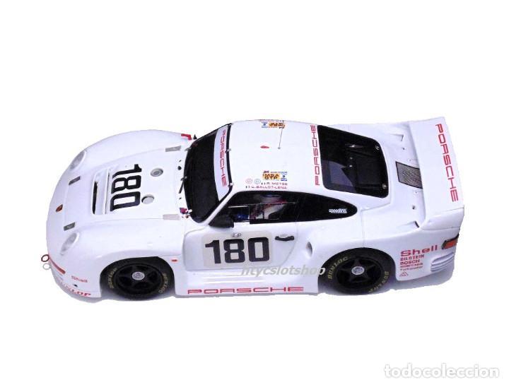Slot Cars: LE MANS MINIATURES PORSCHE 961 #180 24 HS LE MANS 1986 BALLOT-LENA / METGE 132066M - Foto 3 - 142821574