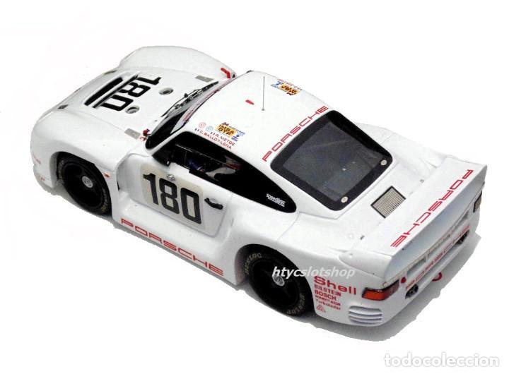 Slot Cars: LE MANS MINIATURES PORSCHE 961 #180 24 HS LE MANS 1986 BALLOT-LENA / METGE 132066M - Foto 4 - 142821574