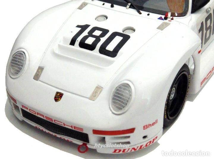 Slot Cars: LE MANS MINIATURES PORSCHE 961 #180 24 HS LE MANS 1986 BALLOT-LENA / METGE 132066M - Foto 8 - 142821574