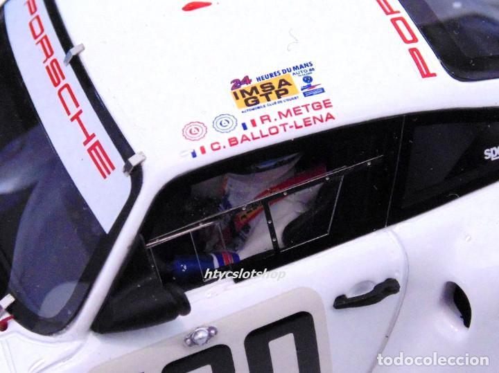 Slot Cars: LE MANS MINIATURES PORSCHE 961 #180 24 HS LE MANS 1986 BALLOT-LENA / METGE 132066M - Foto 10 - 142821574