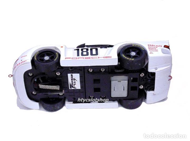 Slot Cars: LE MANS MINIATURES PORSCHE 961 #180 24 HS LE MANS 1986 BALLOT-LENA / METGE 132066M - Foto 12 - 142821574