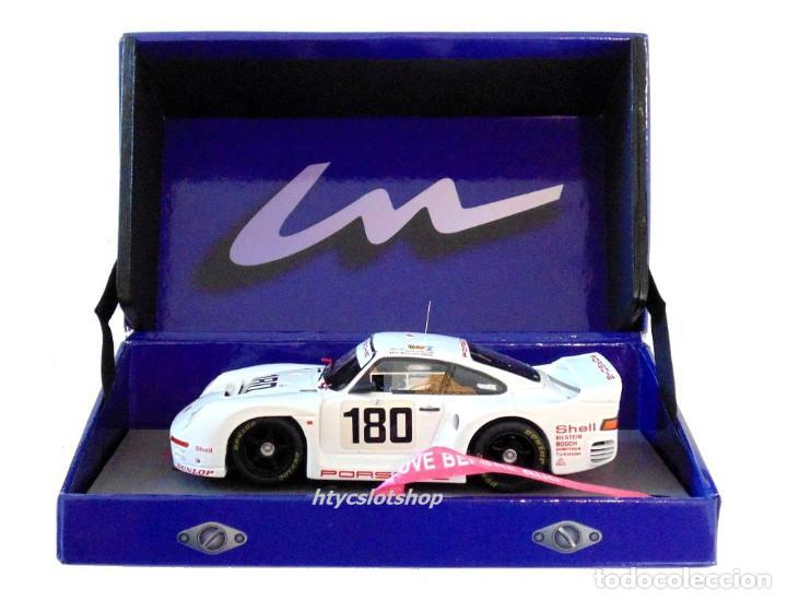 Slot Cars: LE MANS MINIATURES PORSCHE 961 #180 24 HS LE MANS 1986 BALLOT-LENA / METGE 132066M - Foto 13 - 142821574