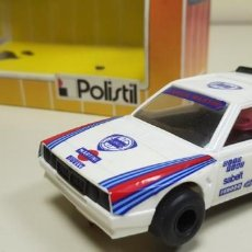 Slot Cars: J10- LANCIA DELTA S4 GT MARTINI REF 31203 RALLY POLISTIL SLOT CAR AÑOS 80. Lote 142825850