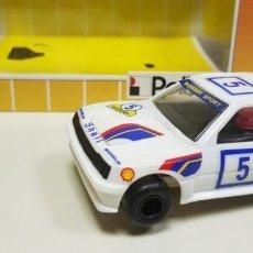 Slot Cars: J10- PEUGEOT 205 RALLYE POLISTIL REF 31204 SLOT CAR AÑOS 80. Lote 148888889
