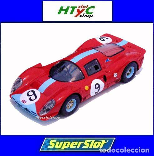 Superslot Ferrari 412p #9 6 Hs Brands Hatch 196
