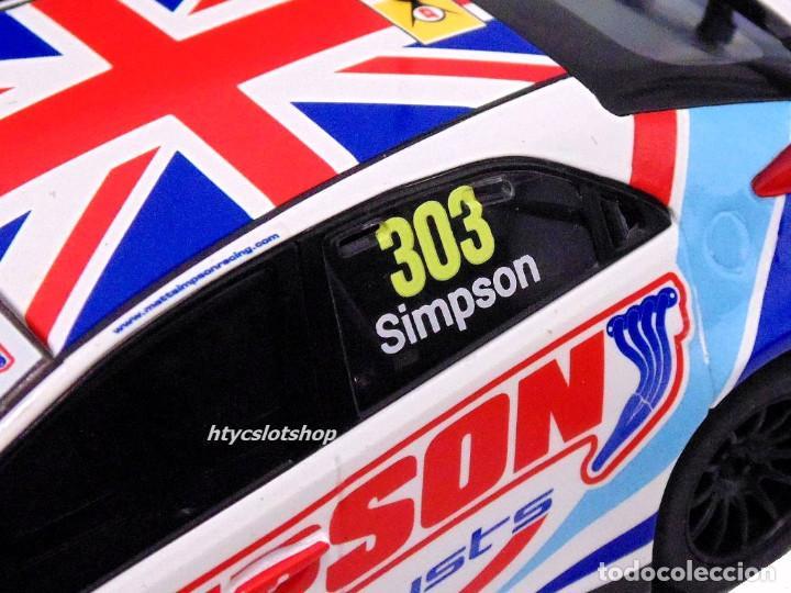Slot Cars: OFERTÓN! SUPERSLOT HONDA CIVIC TYPE R #303 BTCC 2017 MATT SIMPSON SCALEXTRIC UK H3915 - Foto 6 - 143216090