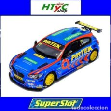 Slot Cars: OFERTÓN! SUPERSLOT BMW 125 #77 SERIE 1 NGTC-BTCC 2017 ANDY JORDAN SCALEXTRIC UK H3914. Lote 176695715